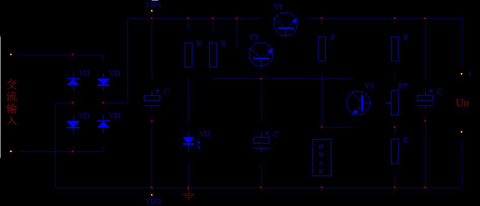 项目名称:串联型可调直流稳压电源的组装与测试 使用电烙铁,焊锡丝