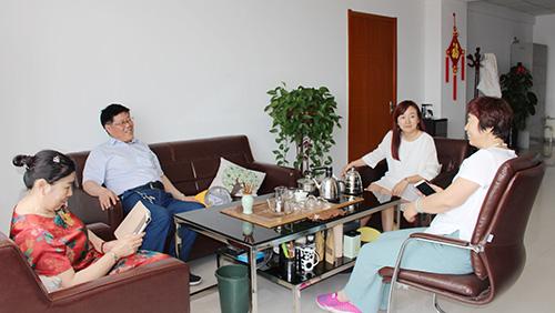 青岛航空职业技术学校冯校长一行做客创元教育