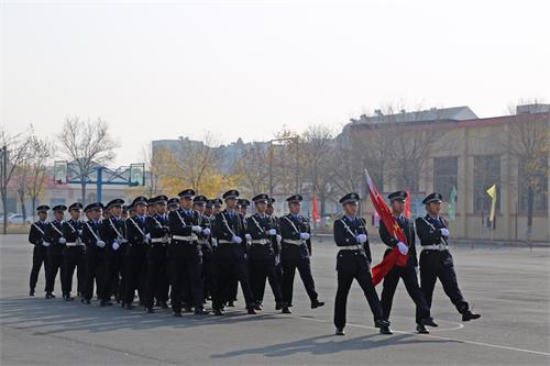 山东东营金盾司法学校国旗下的讲话——《纪律教育》