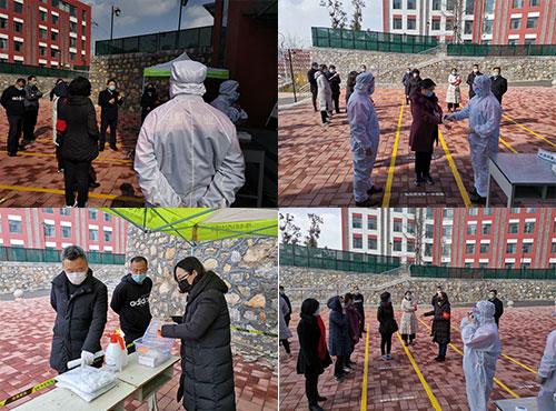 济南市技师学院组织学生开学工作实施方案预演
